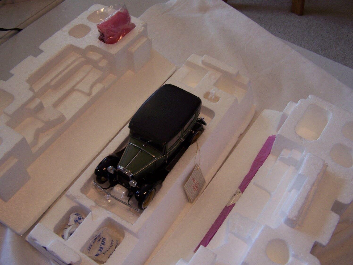 Franklin - mint - 1930 ford ein tudor - 1   24 skala papiere & box sehr schön
