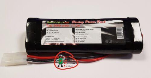 7,2V RC-Akku Ni-MH Racing-Pack Akku Tamiya-Stecker Power-Pack RC 5000mAh