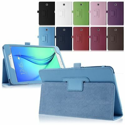 """Foldable Leather Stand Case Cover Fo Samsung Galaxy Tab 7-11"""" E A S T230 815 Lot"""