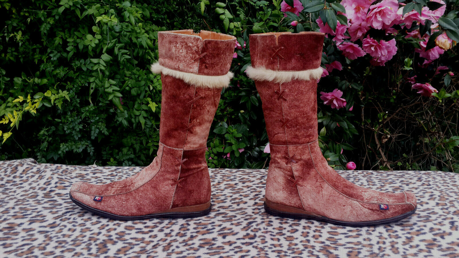 Kenji  Brown Suede leather Boots