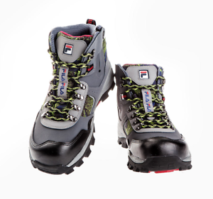 FILA-Comfortable-Safety-Shoes-F-67-Work-Boots-Steel-Toe-US-7-11