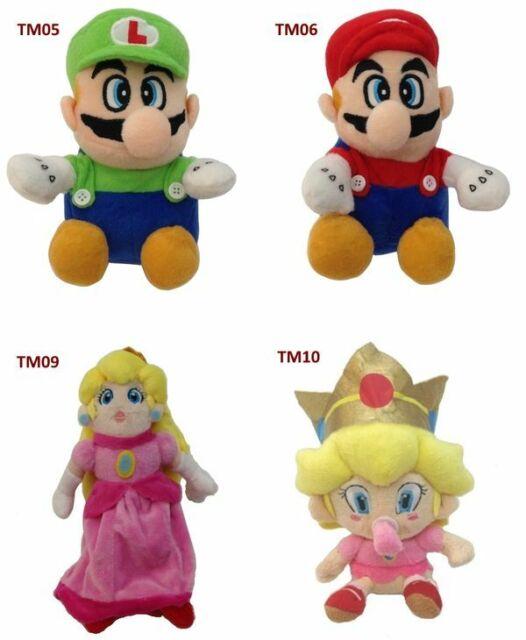 Restposten 17x Super Mario Bros Peluche Collection TM0X