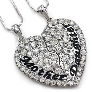 Cute mom mother daughter best friend mothers day heart pendant image is loading cute mom mother amp daughter best friend mother aloadofball Choice Image