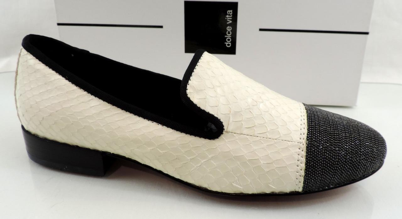 80% di sconto donna scarpe Dolce Vita Coco Slip on Loafers Cap Toe Toe Toe bianca Snake Leather Dimensione 7  tutti i prodotti ottengono fino al 34% di sconto