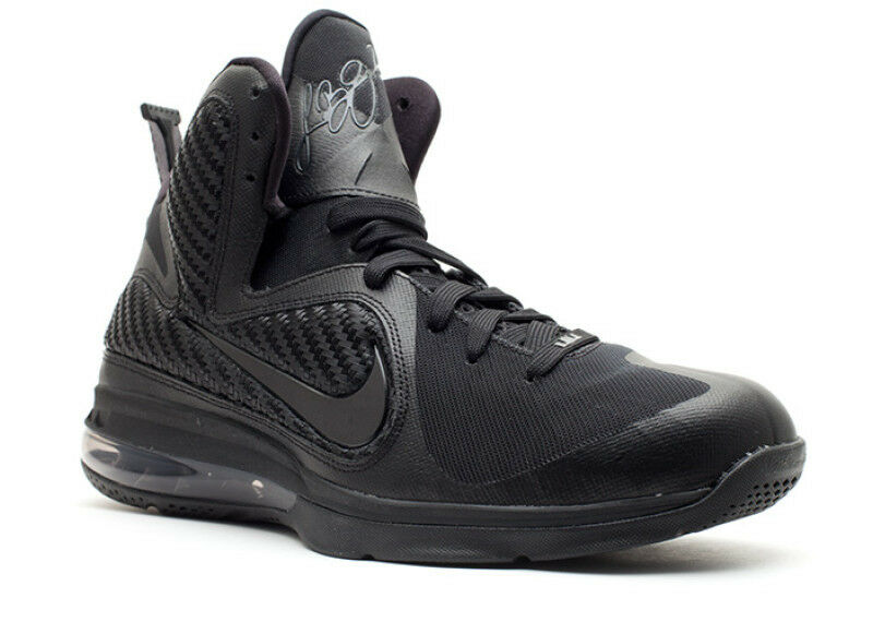 Nike lebron anthrazit 9 ix schwarzout anthrazit lebron größe 10,5.469764-001 cavs finale kyrie a16123