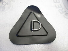 """Inflatable Boat PVC D Ring Triangle Patch Stainless 5 1/4"""""""