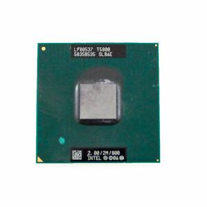 Intel Core2 DUO T5800 SLB6E Mobile CPU Processor Socket P 2.0GHz 2MB 800MHz