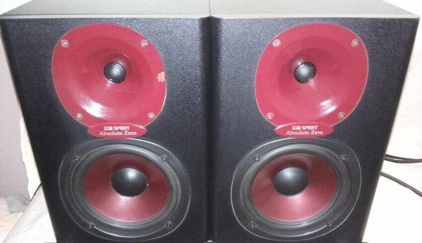 Passive Studio monitors, Spirit By Soundcraft Absolute