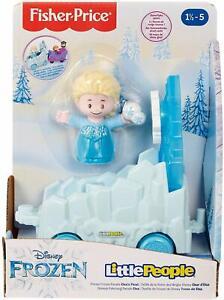 Fisher-Price-Little-People-Disney-Frozen-Parade-Elsa-039-s-Float
