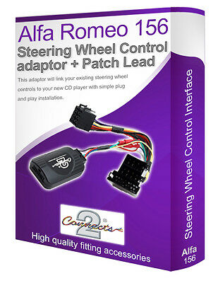 Alfa Romeo 156 car stereo adapter, Connect your Steering Wheel stalk controls