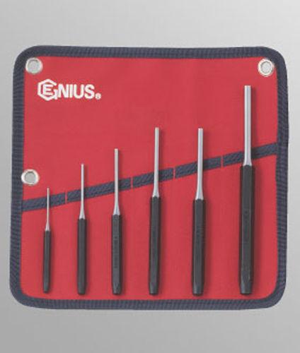 Genius Tools 6 pc Metric Pin Punch Set PC-566MP