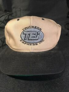 7569341c1f4 Image is loading TRUCKERS-EXPRESS-SNAP-Back-Trucker-HAT-CAP