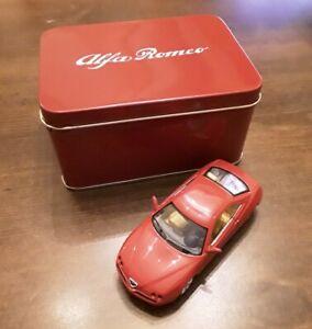ALFA-ROMEO-GTV-1995-Rosso-Solido-auto-modello-dettagliato-SCALA-1-43-TIN