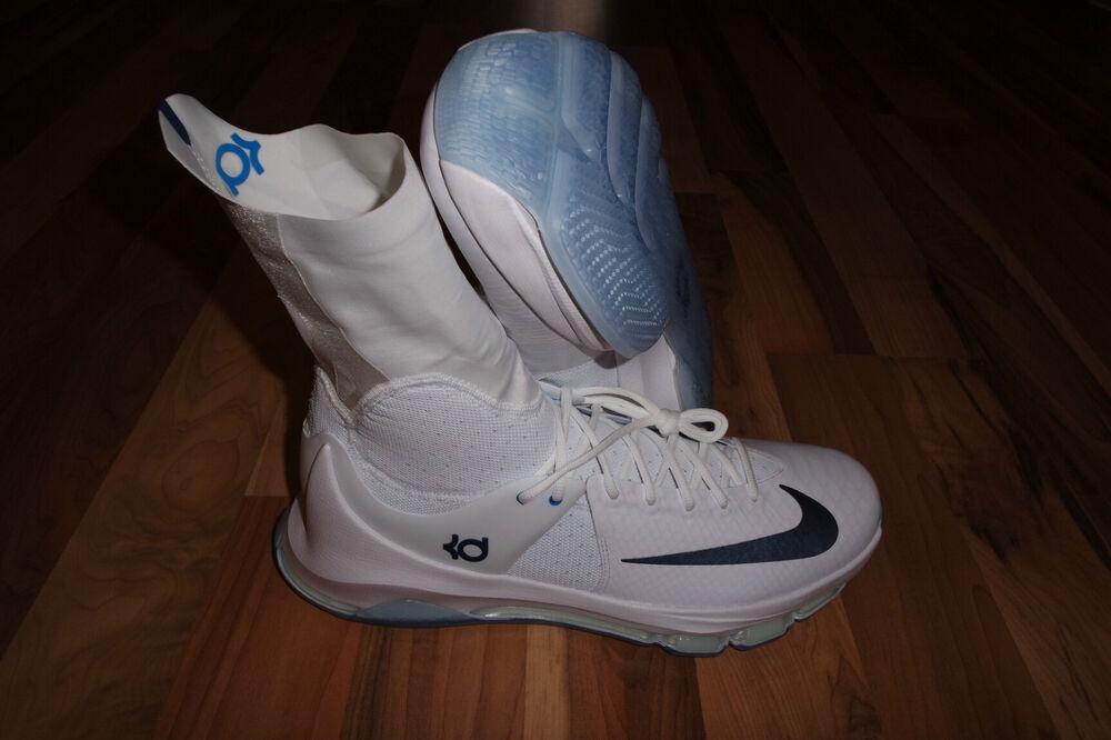 Nike KD 8 ELITE Homme Basketball Chaussures 834185 144 MIDNIGH NAVY/PHOTO Bleu Homme  Chaussures de sport pour hommes et femmes