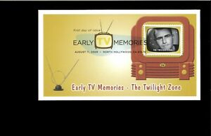 2009-FDC-Early-TV-Memories-The-Twilight-Zone-North-Hollywood-CA