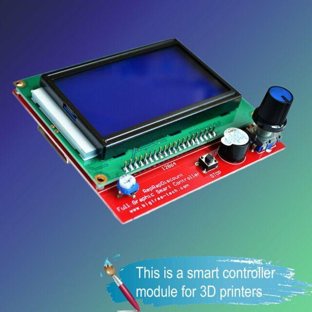 RAMPS 1.4 Board Smart Controller 12864 LCD Sensor Module 3D Printer Arduino c5