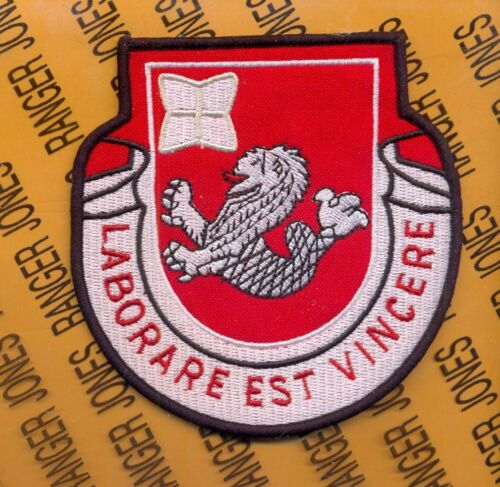 US Army 76th Engineer Battalion 4 inch pocket patch