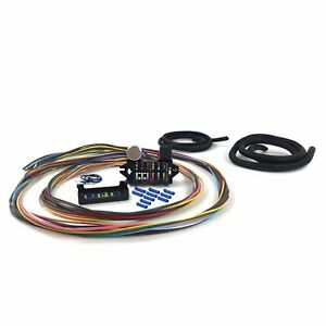 Ultimate 12 Fuse 12v Conversion Wire Harness 46 1946 Ford Delivery rat  truck | eBayeBay