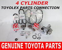 Toyota Timing Belt Kit Water Pump 2.0 2.2 Factory Genuine Parts
