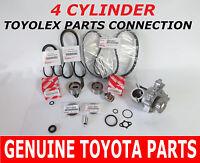 Toyota Timing Belt Kit Water Pump 2.0 2.2 Factory Genuine Parts