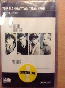 THE-MANHATTAN-TRANSFER-VOCALESE-MUSICASSETTA-NUOVO-D-039-EPOCA-RIMANENZA
