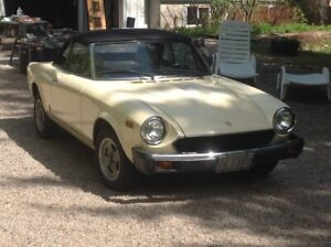 1981 Fiat 124 Spider Chrome