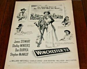 Winchester /'73 Poster////Winchester /'73 Movie Poster////Movie Poster////Poster Reprint