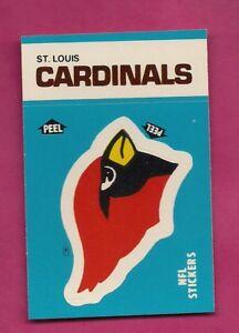 1987-ST-LOUIS-CARDINALS-NFL-FOOTBALL-STICKERS-NRMT-MT-CARD-INV-A4979