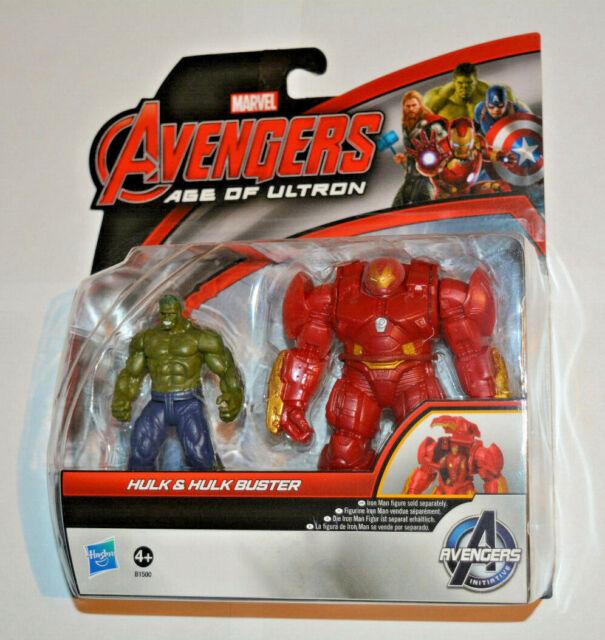 Hasbro Marvel Avengers / Hulk & Hulk Buster B1500 beweglich ca.8 cm groß