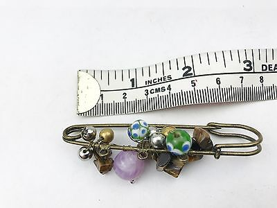 Leuk Murano Amethyst Wedding Bride Kilt Pin Charm Gift Love Shawl Scarf Brooch Aantrekkelijk Uiterlijk