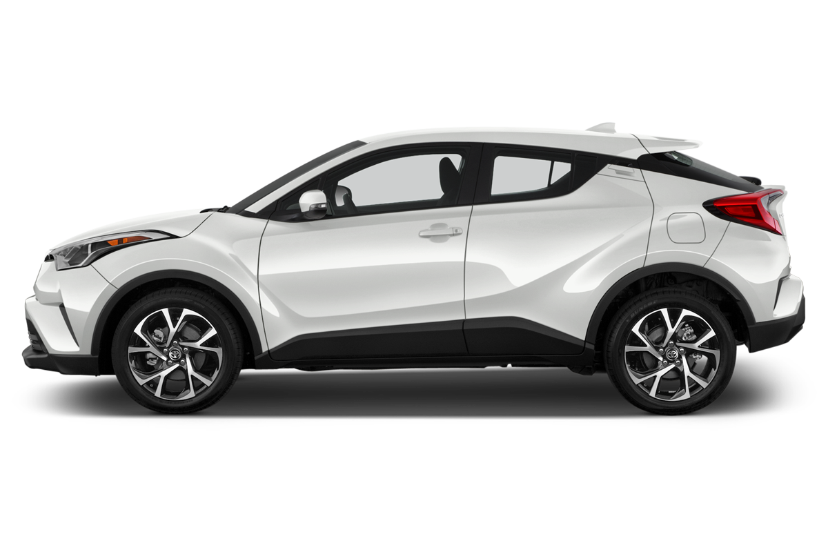 Toyota C-HR side view