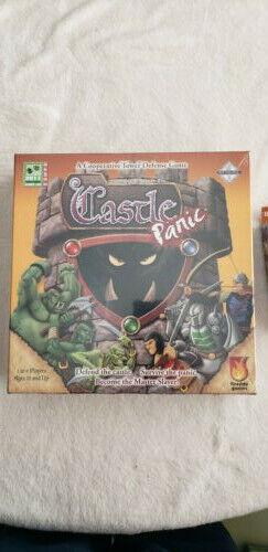 Castle Panic Plus Two Expansions
