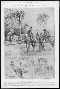1898-Antique-Print-SPANISH-AMERICAN-WAR-Florida-Tampa-Camp-Troop-Assembly-109