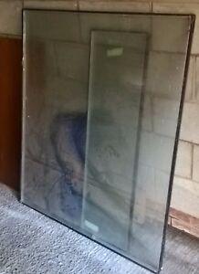 Double Vitrage Fenêtre. Utilisé Point .50 .5 X 43 In (environ 109.22 Cm), Fissure Dans Le Verre Trop-afficher Le Titre D'origine
