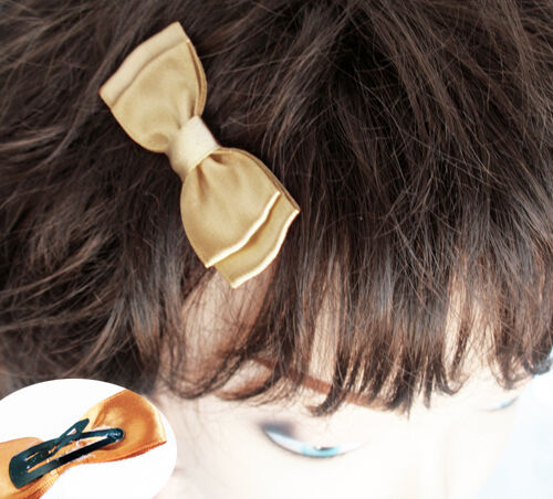 K02 clip arcos clip de cabello pelo bucle satén pin up ~ retro ~ colores para elegir *