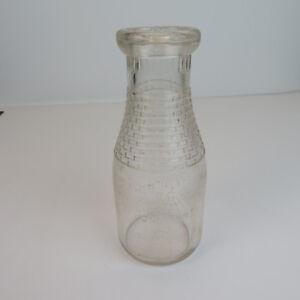 Vintage-Franklin-Co-Op-Minnesota-Dairy-Glass-1-Pint-Milk-Bottle