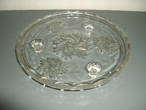 CUT-GLASS-CRYSTAL-CAKE-PLATE