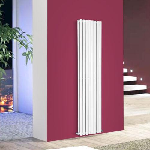 Vertical Designer Oval Column Radiator Double Panel Central Heating Rads 1800mm