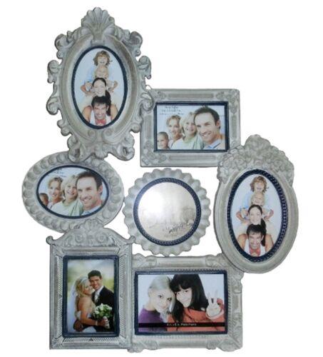 Cadre Photo Collage gris antique bois Galerie Photos Cadre Galerie Cadre Photo used