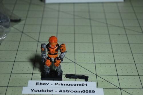 Mega Bloks Halo Series 8 Orange Spartan Hazop Mega Construx