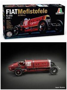 FIAT-MEFISTOFELE-21706cc-1924-500-Pezzi-Pieces-Italeri-4701-1-12-Model-Kit-Nuovo