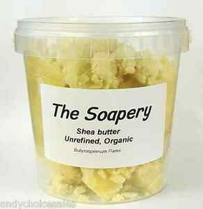 Shea Butter - 500g - Certified Organic Unrefined Pure Natural Raw Grade A