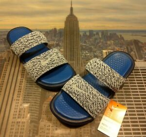 3121df6d303ed1 Nike Benassi Duo Ultra Slide Sandal x Pigalle Blue Men s Size 6 ...