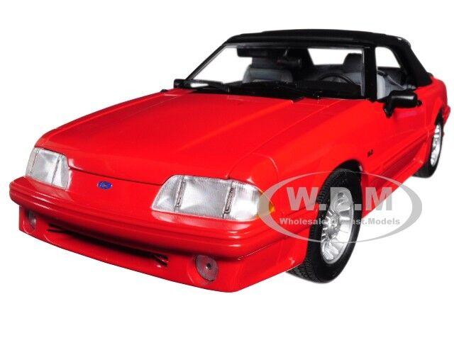 1988 ford mustang 5.0 cabrio rot  verheiratet mit kindern  1   18 von gmp 18904