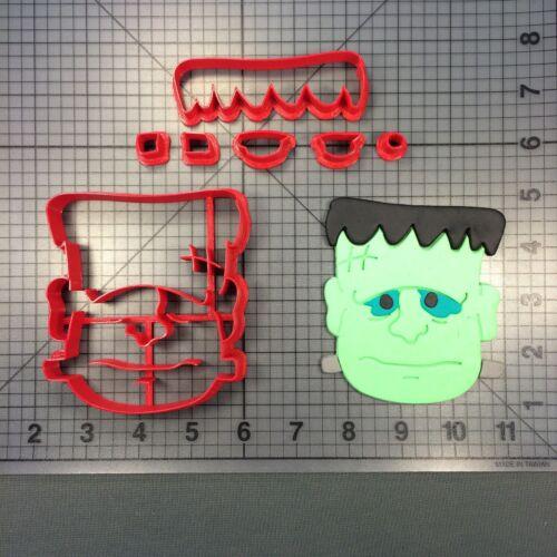 Frankenstein Face 266-A899 Cookie Cutter Set Halloween