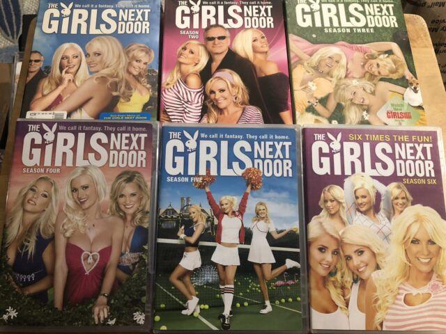 The Girls Next Door: Complete Series (DVD, 17-Disc Set) season 1 2 3 4 5 6 RARE