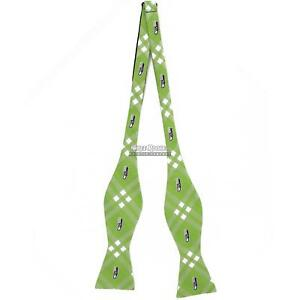 9f34240058fb Seattle Seahawks Bow Ties Self Tie Bow FREE SHIPPING Seahawks Self ...