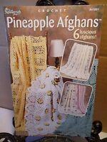 Pineapple Afghans Crochet Patterns The Needlecraft Shop 841001 Daisy Rose Shells