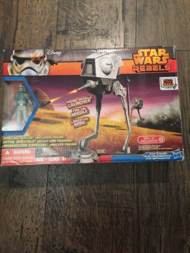 Star Wars Rebels AT-DP Vehicle MISB RARE TO FIND UNUSED IN SEALED BOX HASBRO