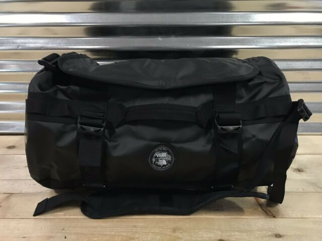VANS x The North Face Base Camp Duffle Bag TNF Skate Backpack Red Yellow  Black